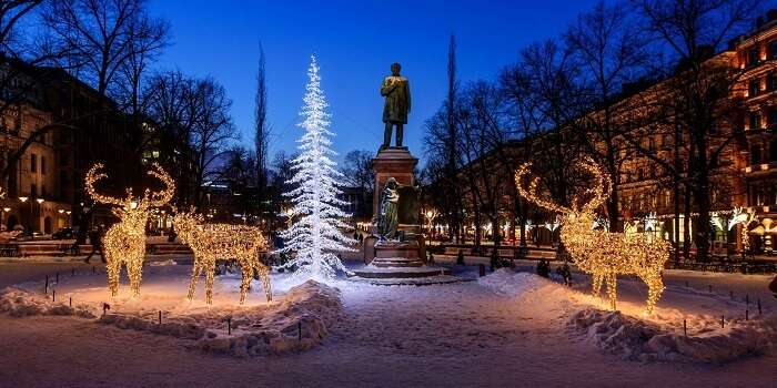Christmas at Helsinki, Finland