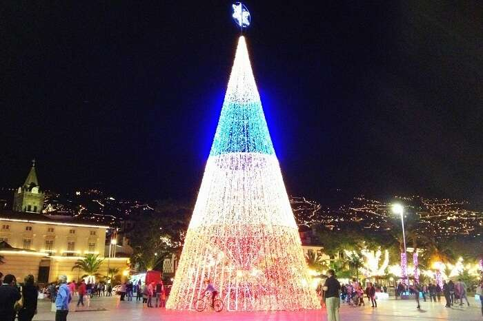 Christmas celebrations at Madeira, Portugal