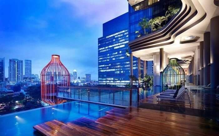 A hotel with with infinity pool and gorgeous views ss06112017