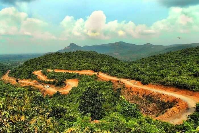 visit Ajodhya Hills near kolkata
