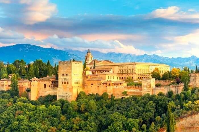 Alhambra Palace Andalucia