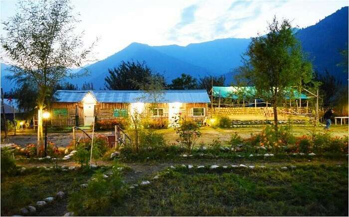 Beautiful camps of Camp Exotica in Manali