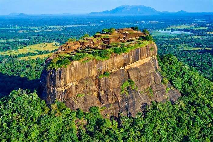 Climb over 1,200 steps to the Sigiriya Rock Fortress