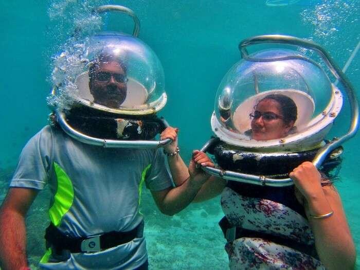 undersea walking
