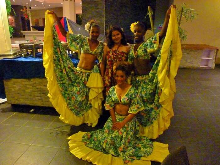 Sega dance performance in mauritius