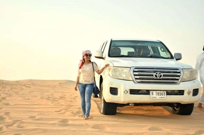 desert safari camps