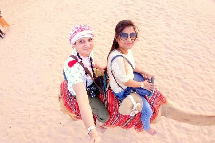 camel ride in dubai