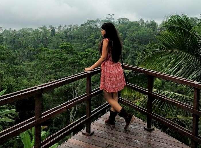scenic outlook in Bali