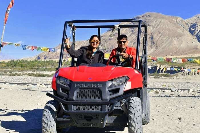 lokpal romantic trip to ladakh with wife