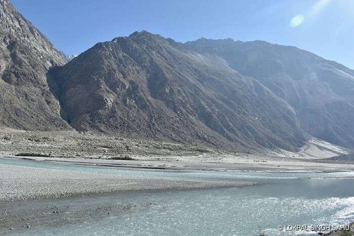 lokpal romantic trip to ladakh: zanskar river