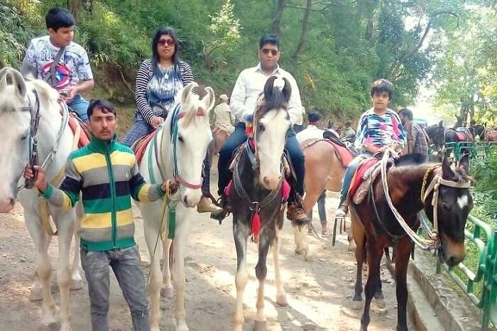 horse riding in Bhimtal
