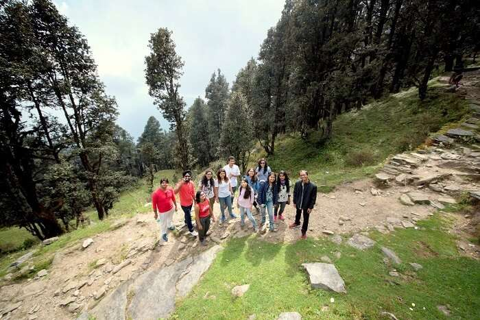 trekking with travelers