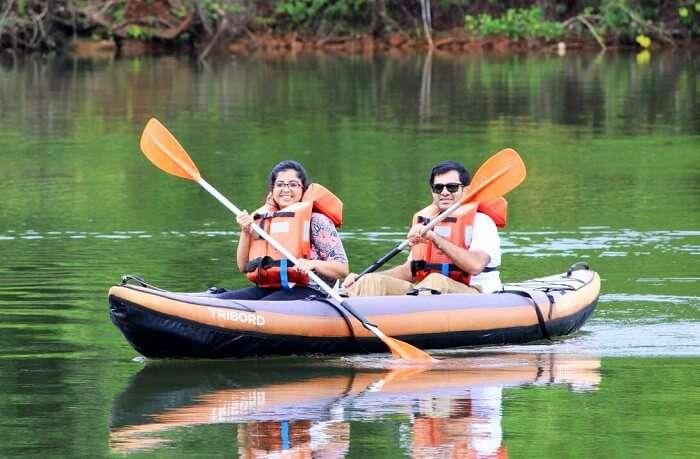 kayaking munnar