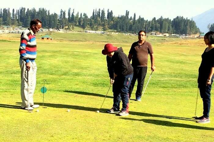 golf in gulmarg