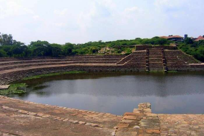 The Surajkund Lake
