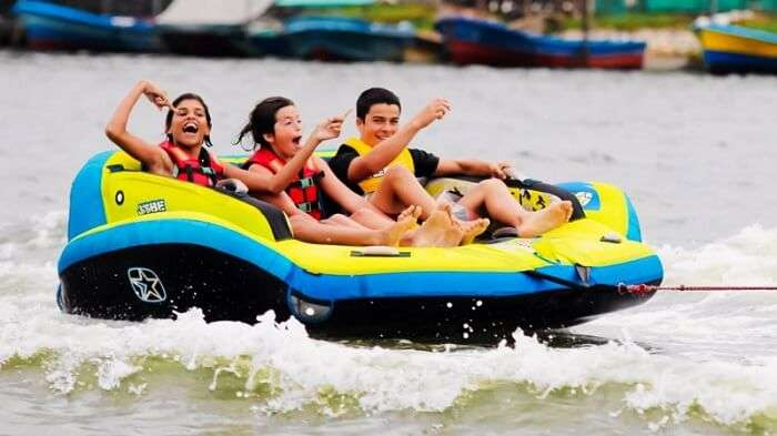 Thrill out with various watersports in Sri Lanka