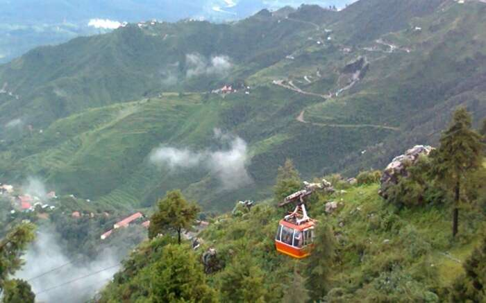 Ropeway in Mussoorie - unwind your love for each other