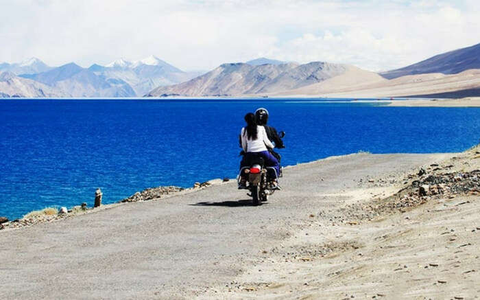 One of the highest motorable roads in the world, Leh-ladakh
