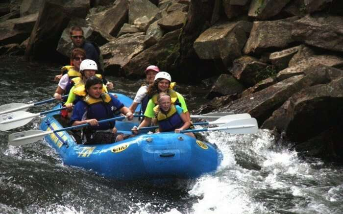 River Rafting at Rishikesh- Thrill with your partner
