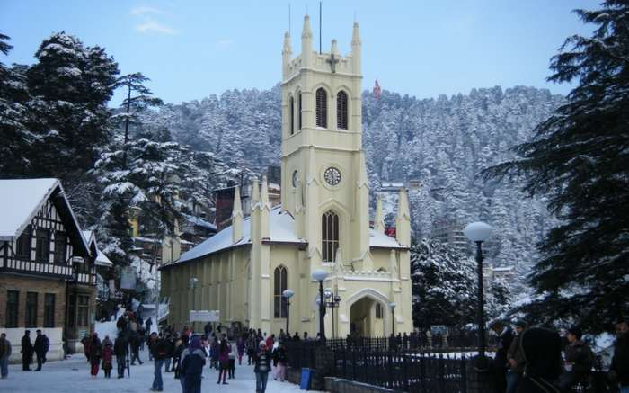 St. Michael's Catholic Church in Shimla