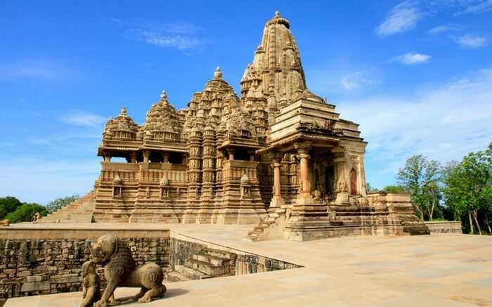 Khajuraho temple - the World Heritage listed temples