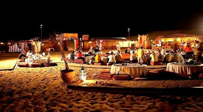 desert safari new year in dubai