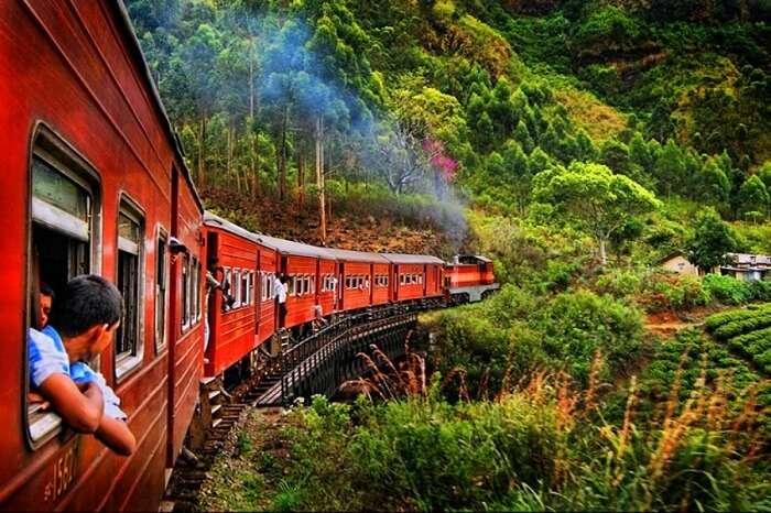 Hop aboard a train to Ella