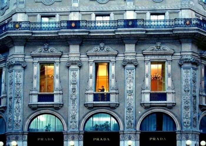 galleria hotel in milan
