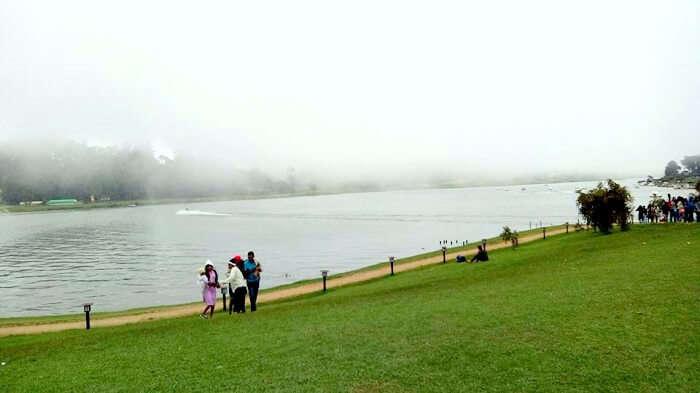 lake in nuwara eliya