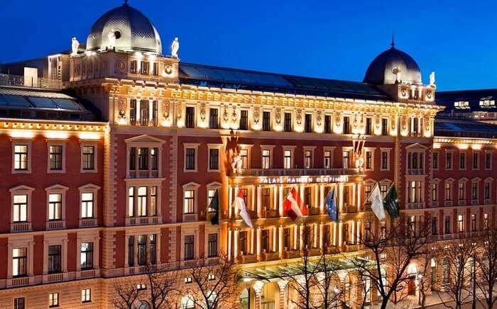 palais hotel vienna