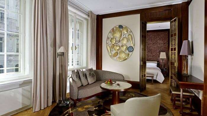 suite of park hyatt vienna