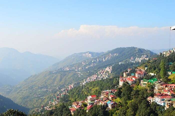 mall road shimla view