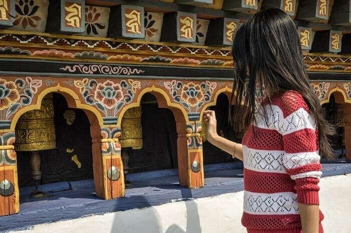 Exploring culture in Bhutan
