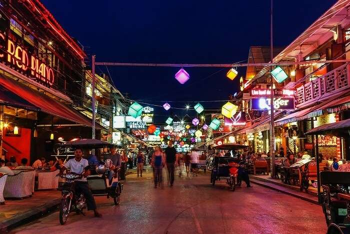 Nightlife In Sihanouk