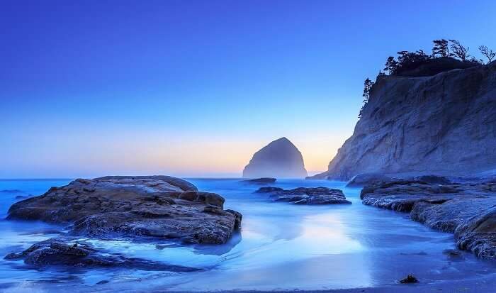 Pacific City in Oregon, USA