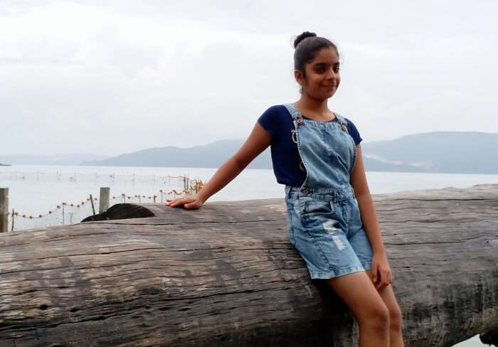 Girl in Andaman