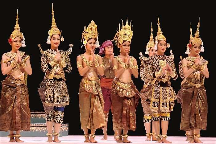 Apsara Dance Performance