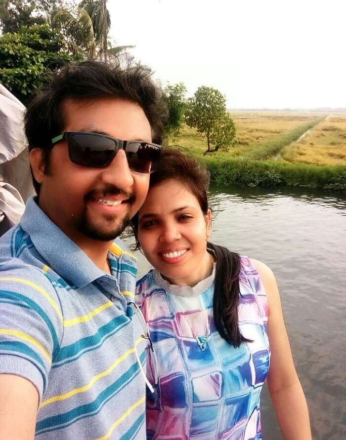 Couple in Alleppey