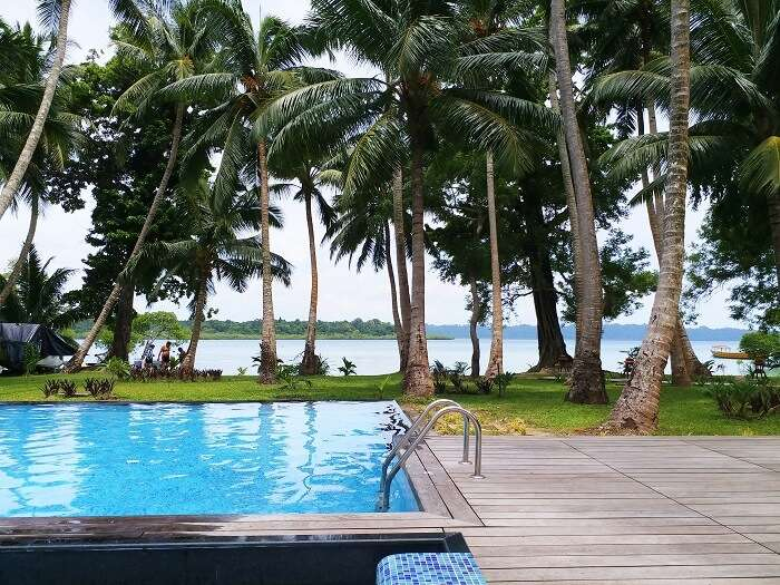 Sea Shell Resort in Andaman