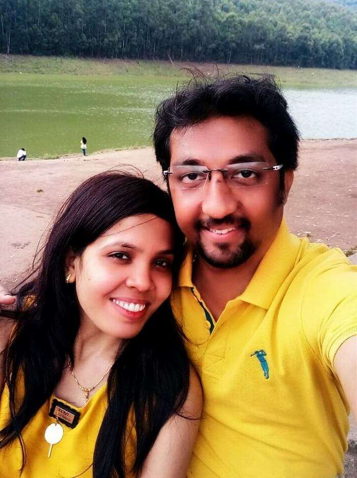 Couple at Mattupetty Dam
