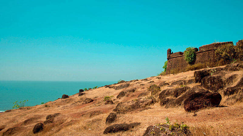 Chapora Fort by the sea
