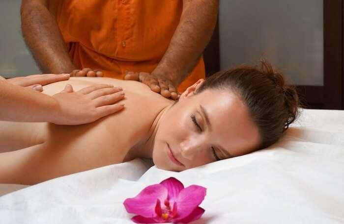 Ayurveda spa treatments in Kerala, India