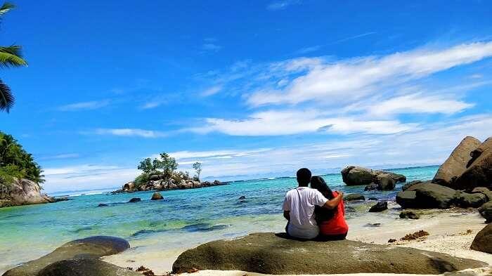 sandeep seychelles trip: anse lazio beach