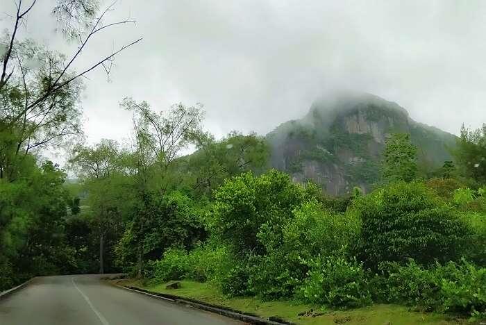 sandeep seychelles trip: raining