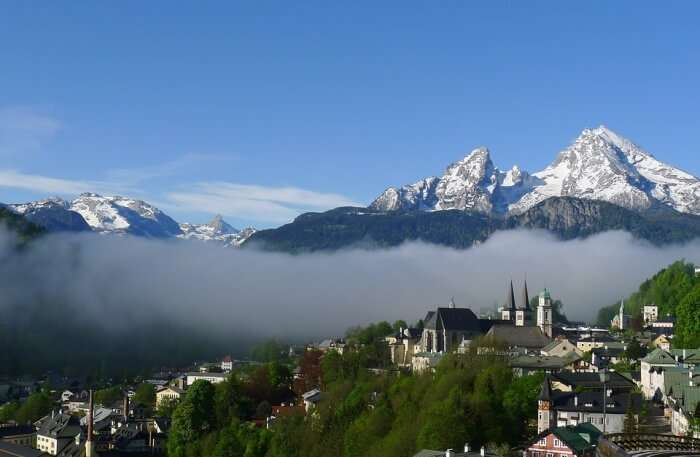 Watzmann Mountains Germany Alps Berchtesgaden