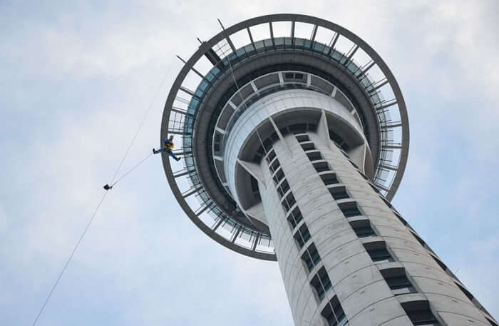 Sky Tower of Auckland, New Zealand