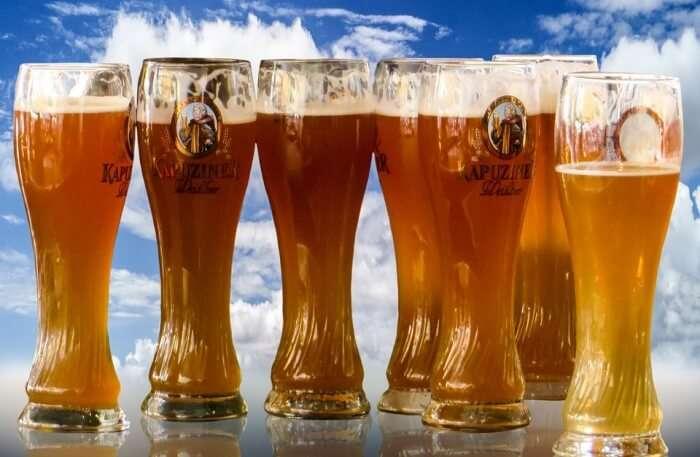 Beer Bavaria Oktoberfest Beer Glass