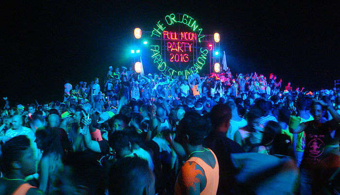 Full Moon Parties in Thailand