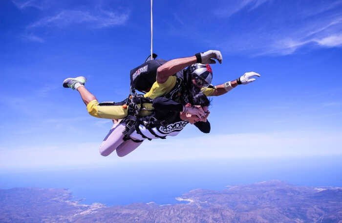 skydiving in Empuriabrava