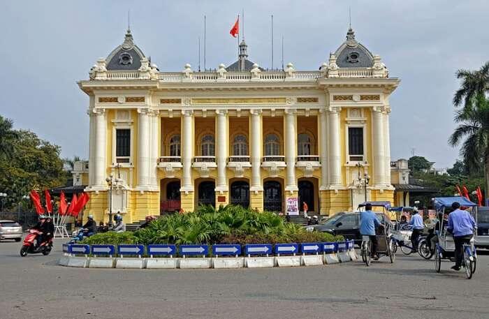 Hanoi Opera House View
